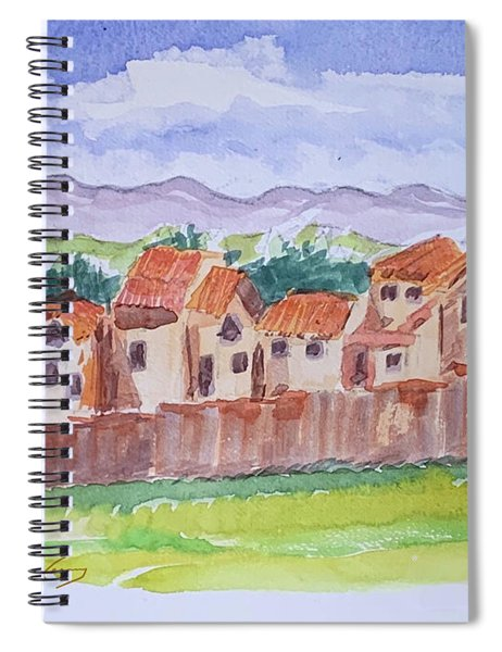 Laguna Del Sol Row Houses Spiral Notebook