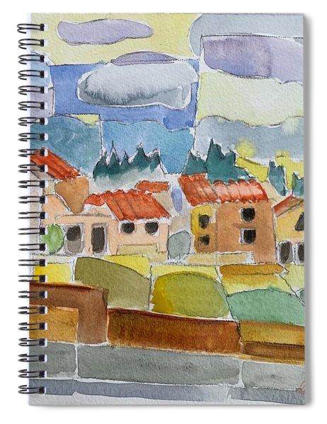 Laguna Del Sol Sky Design Spiral Notebook