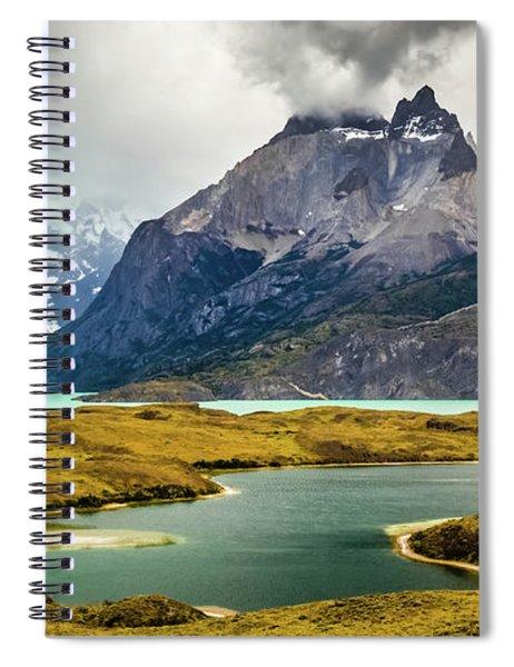 Laguna Larga, Lago Nordernskjoeld, Cuernos Del Paine, Torres Del Paine, Chile Spiral Notebook