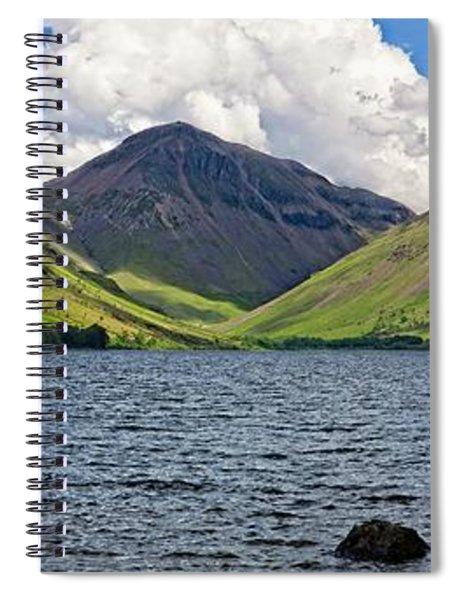 Lake District Panorama - Wastwater Spiral Notebook