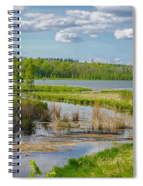 Lake Itasca Beauty Spiral Notebook