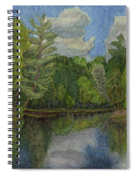 Lake Jane Spiral Notebook