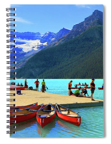 Lake Louise In Alberta Canada Spiral Notebook