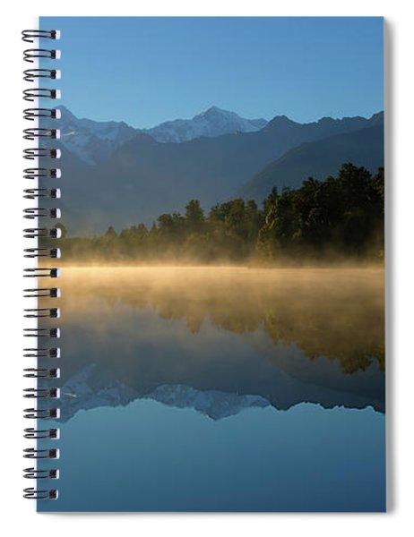 Lake Matheson Morning Spiral Notebook
