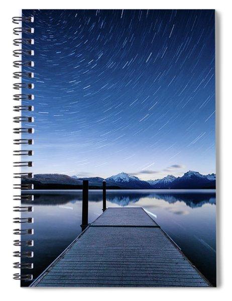 Lake Mcdonald Trails Spiral Notebook