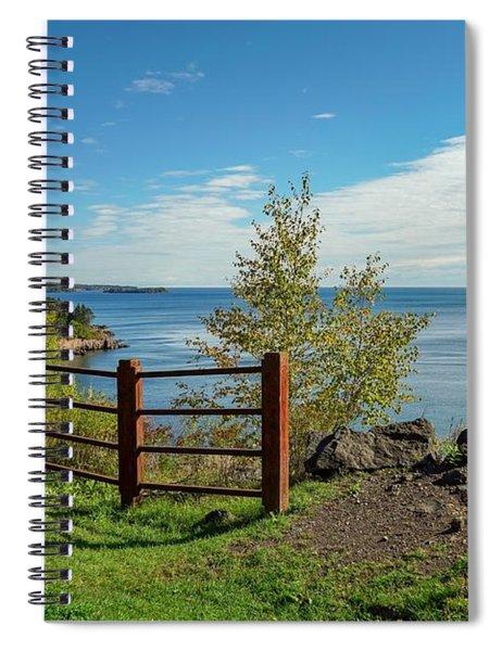 Lake Superior Overlook Spiral Notebook