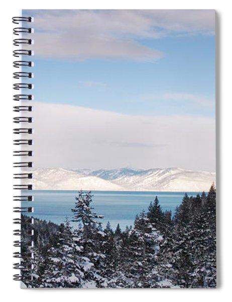 Lake Tahoe Panorama Spiral Notebook