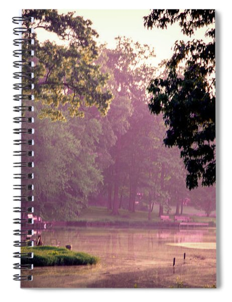 Lakeside Dawn Spiral Notebook