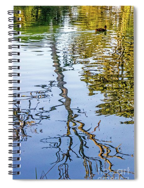 Lakeside Reflections II Spiral Notebook