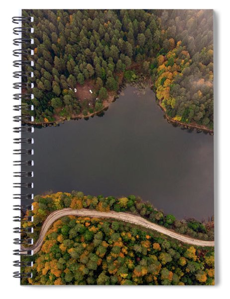 Lakeside Road Spiral Notebook