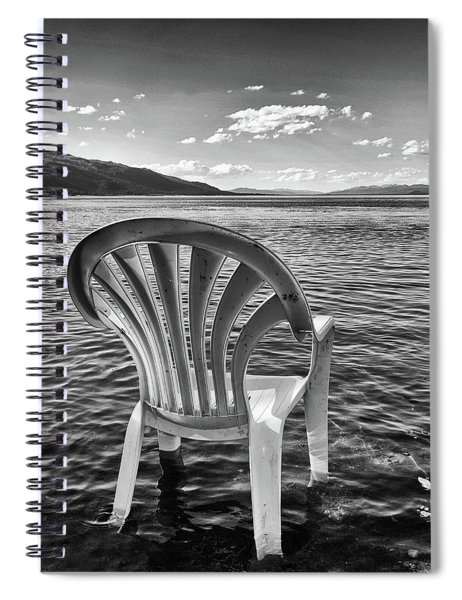 Lakeside Waiting Room Spiral Notebook