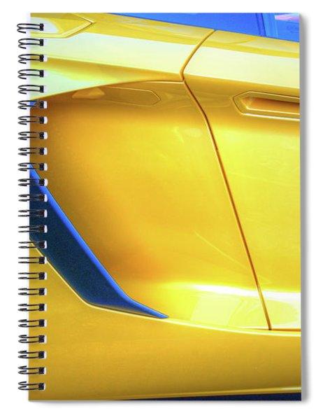 Lamborghini 1 Spiral Notebook