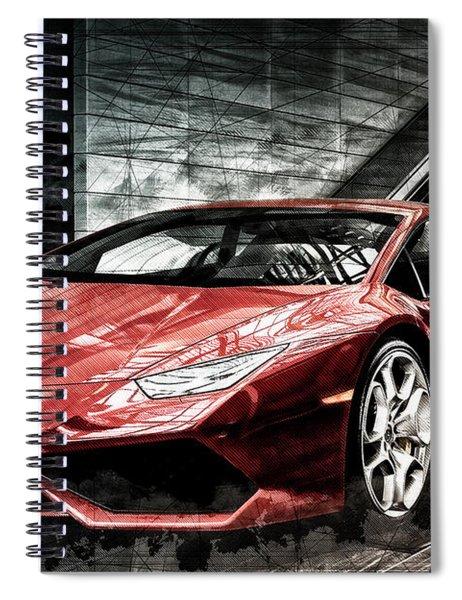 Lamborghini Huracan 2 Spiral Notebook