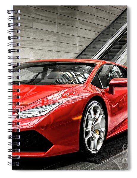 Lamborghini Huracan Spiral Notebook