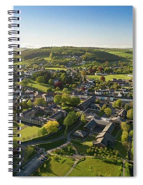 Lampeter From The Air Spiral Notebook