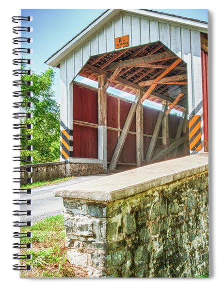 Lancaster Covered Bridge Spiral Notebook