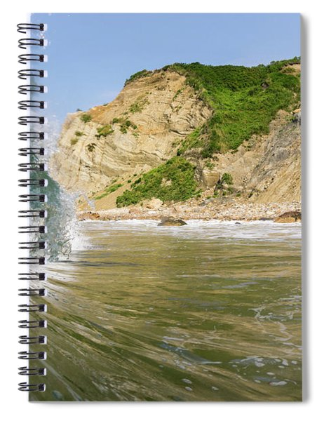 Land And Sea Spiral Notebook