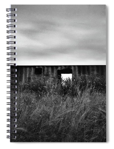 Land Of Decay Spiral Notebook