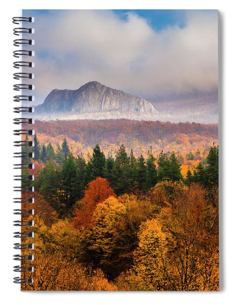 Land Of Illusion Spiral Notebook