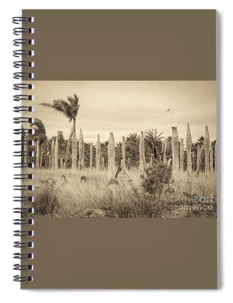 Land Time Forgot Spiral Notebook