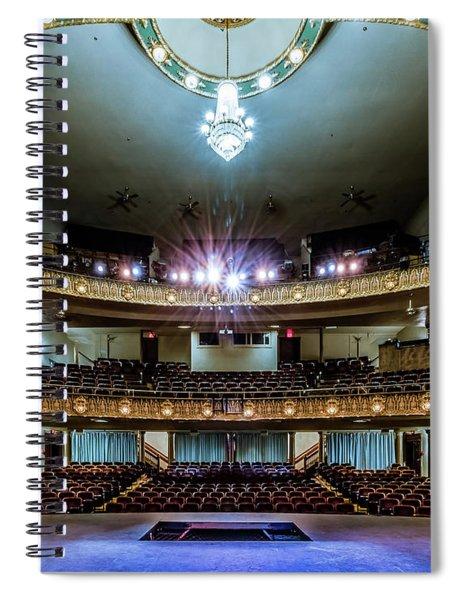 Landers Theatre Stage View Spiral Notebook