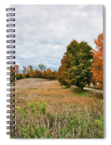 Landscape In The Fall Spiral Notebook