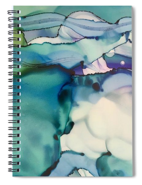 Landscape Or Microscopic Spiral Notebook