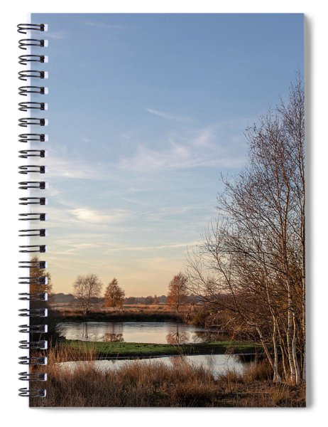 Spiral Notebook featuring the photograph Landscape Scenery by Anjo Ten Kate