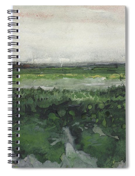 Landscape With Wheelbarrow, 1883  Spiral Notebook