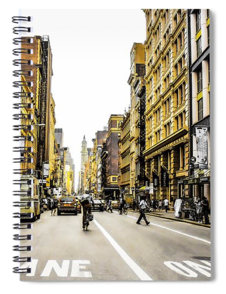 Lane Only  Spiral Notebook