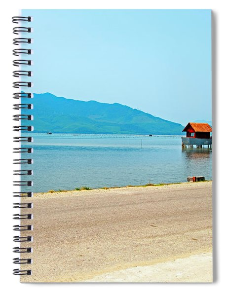 Lang Co Houses On The Water - Hue, Vietnam Spiral Notebook