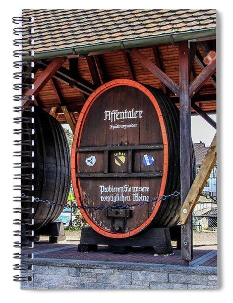 Large Wine Casks Spiral Notebook