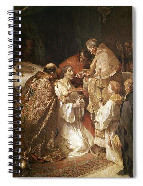 Last Communion Of St. Ferdinand. Madrid, Senate. Ferrant Alejandro. San Fernando -rey-. Spiral Notebook