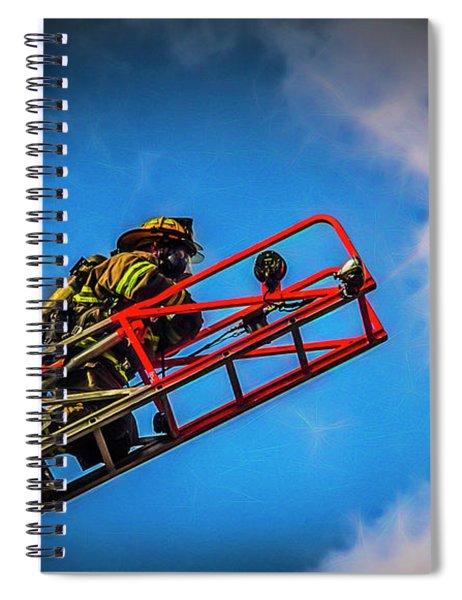 Last Fire Spiral Notebook