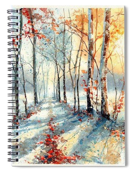 Last Leaves Spiral Notebook