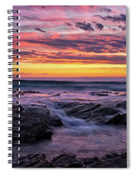 Last Sunset Of 2018 Spiral Notebook