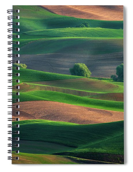 Late Afternoon In The Palouse Spiral Notebook