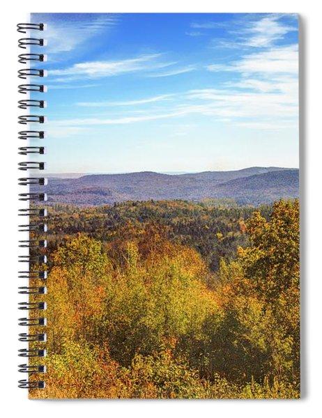 Late Autumn In Vermont. Spiral Notebook