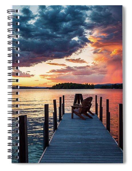 Late Summer Storm. Spiral Notebook