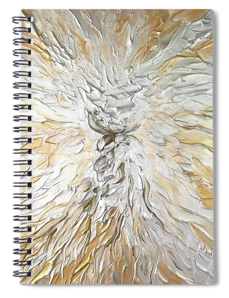Latte Stone Of Light Spiral Notebook