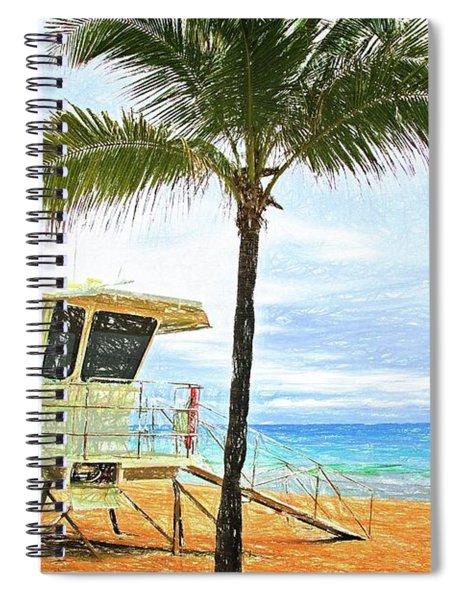 Lauderdale Lifeguard Safe Spiral Notebook