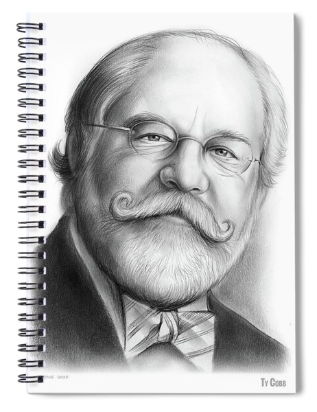 Lawyer Ty Cobb Spiral Notebook