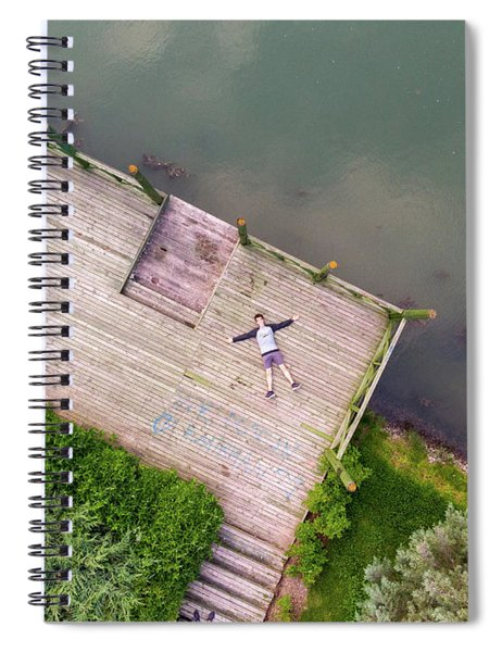 Lay Down Spiral Notebook