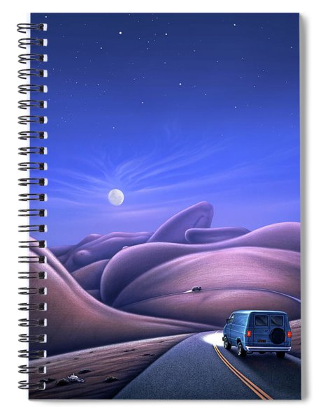 Lay Of The Land Spiral Notebook