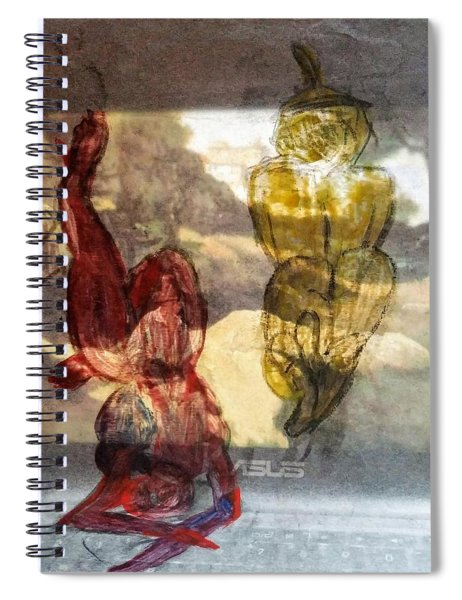 Laying Your Psychopathic Soul Bare Spiral Notebook