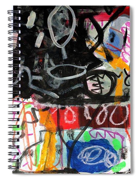 Le Jour Et La Nuit Spiral Notebook