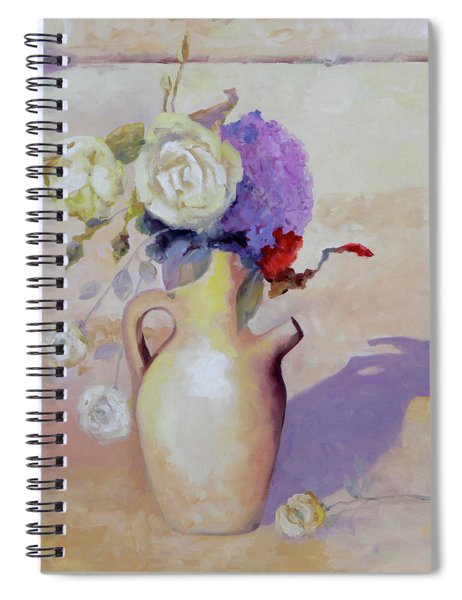 Le Rose Bianche Spiral Notebook
