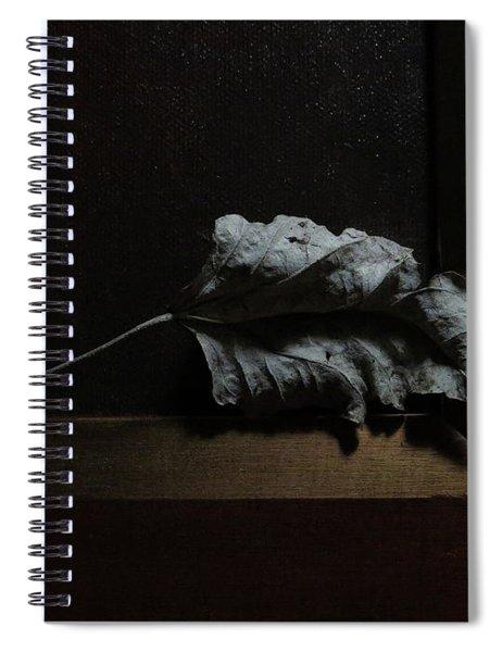 Leaf And Frame Spiral Notebook