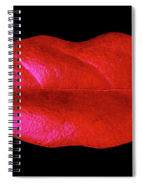 Leaf Lips Spiral Notebook