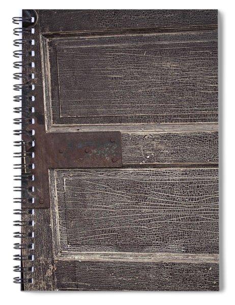 Leather Door Spiral Notebook